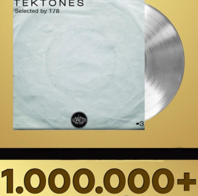 """T78, ROBPM """"ACID LICK"""" (Autektone Records) has exceeded one million streamings on spotify!"""