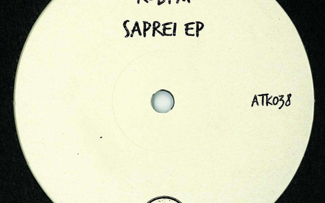 """ROBPM """"Saprei Ep""""(ATK038) (Autektone Records) (OUT NOW!)"""