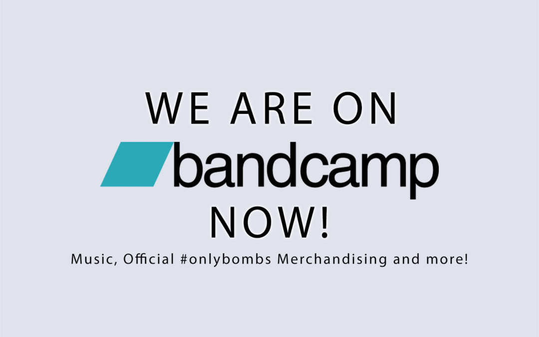 We are on Bandcamp now!