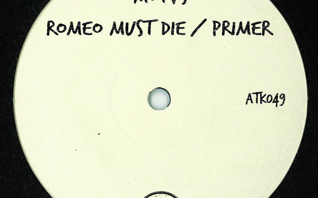 "ATK049 – MOTVS  ""Romeo Must Die / Primier"" (Autektone Records) (Pre-Order On Beatport)"