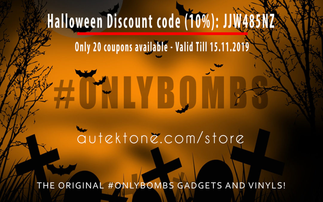 Halloween Discount code (10%): JJW485NZ