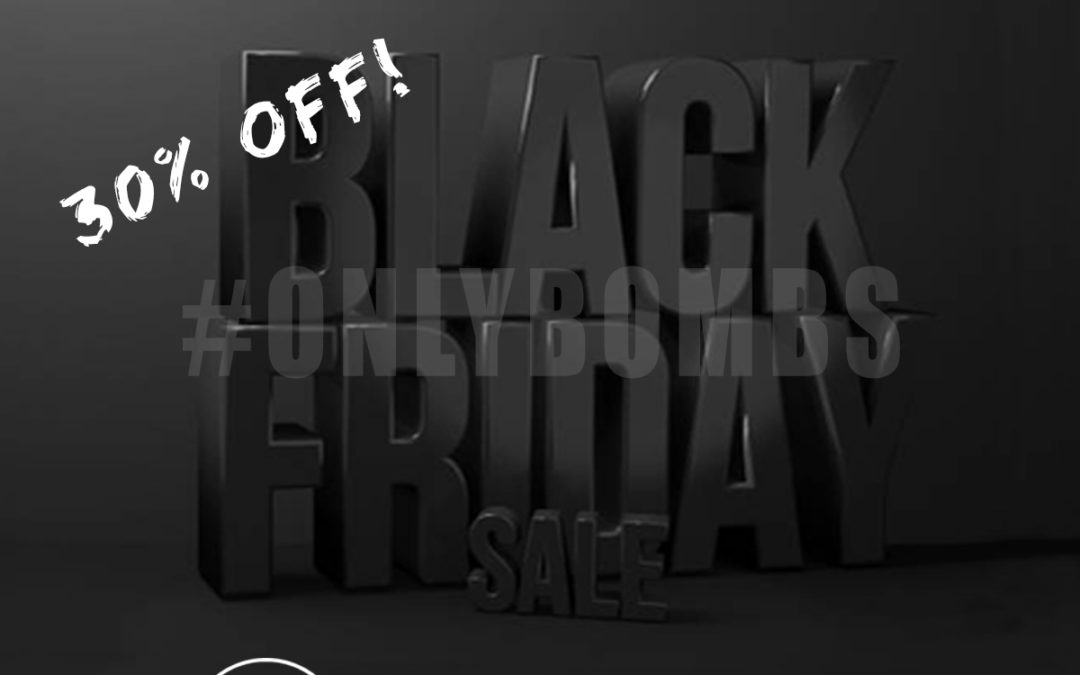 Black Friday – 30% Off!
