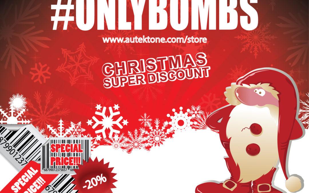 Christmas Super Discount – 20% Off till 06.01.2020