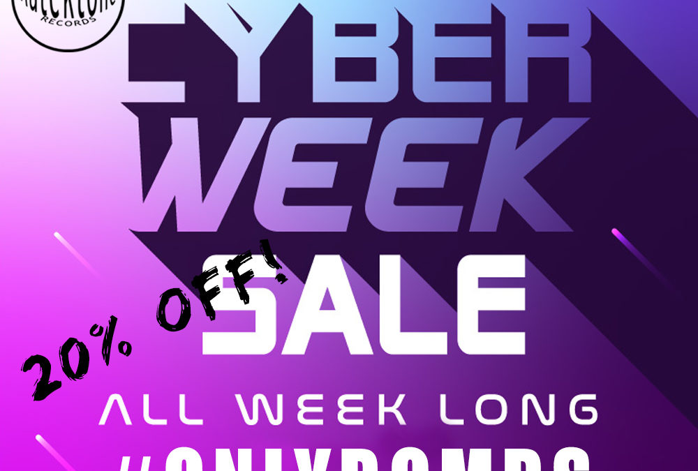 Cyber Week – 20% Off all week long!
