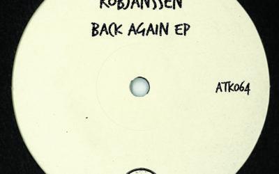 "ATK064 Robjanssen ""Back Again Ep"" (Autektone) (Out Now)"