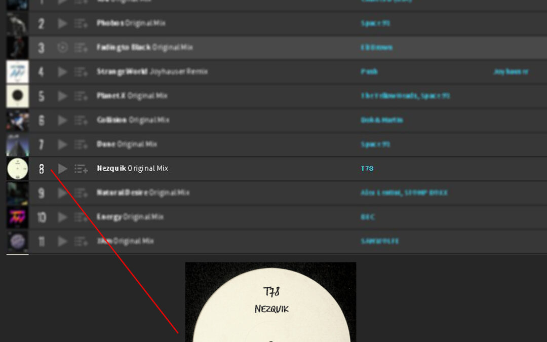 "ATK077 – T78 ""Nezquik"" (Autektone) Reached #8 Position on Techno Peak Time chart of Beatport!"