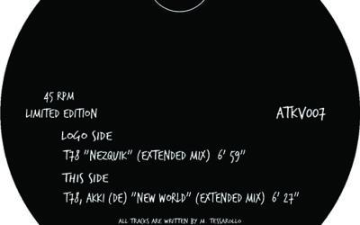"New Vinyl in our Store – T78  ""Nezquik"" / T78, AKKI (DE) ""New World"""
